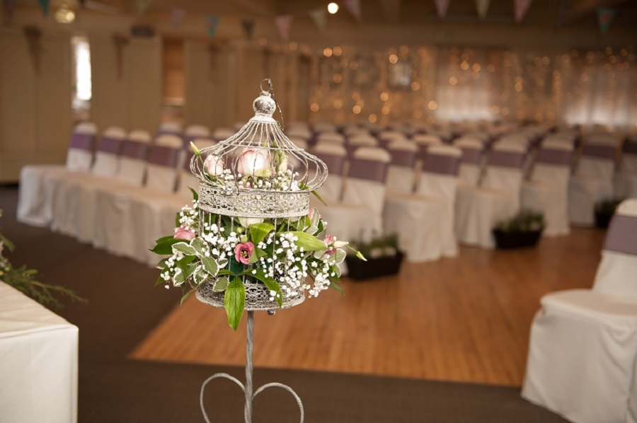 Crown Hotel Blandford Birdcage Flowers