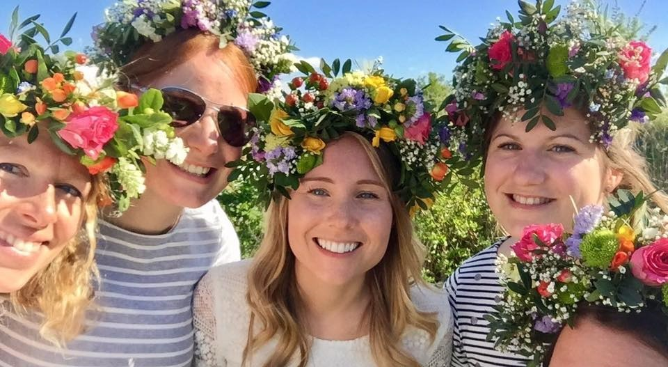 Flower Crowns Hen Do