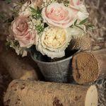 Brides Bouquet David Austin Roses