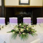 Top Table Wedding Long Low