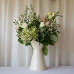 Vintage Jug Hydrangea Wax Flower
